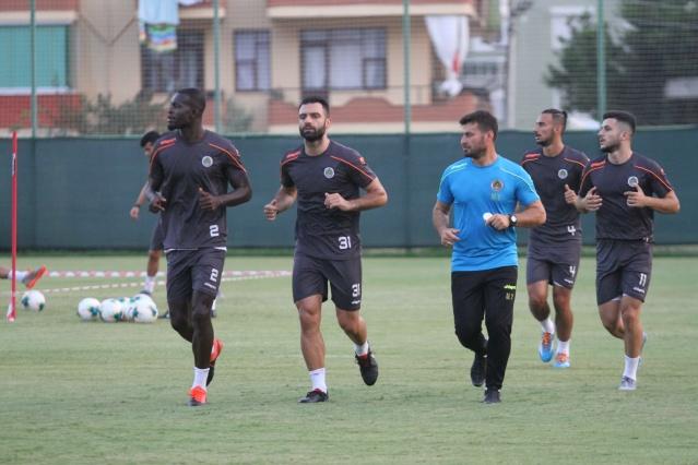 Alanyaspor Kasımpaşa maçı hazırlıklarını sürdürdü