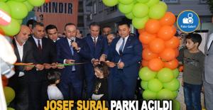 Josef Sural Parkı Açıldı