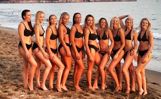 Miss Finland 2019 finalistleri Alanya'da kampa girecek