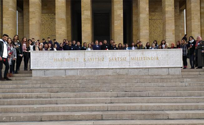 Akdeniz Universitesi Okul Oncesi Egitim Toplulugu Anitkabir De