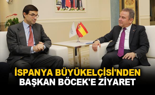 İspanya Büyükelçisi'nden Başkan Böcek'e ziyaret