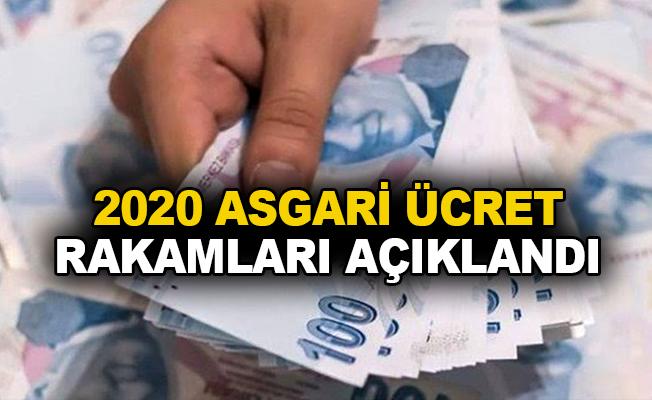 2020 Asgari ücret rakamları açıklandı