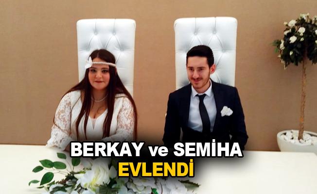 Berkay ve Semiha Evlendi
