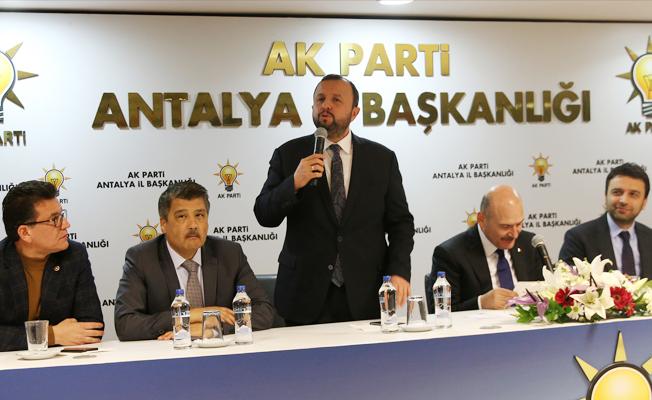 AK Parti Antalya İl Başkanı Taş'tan, Konyaaltı Sahili açıklaması