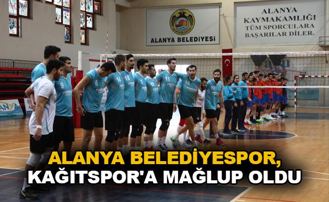 Alanya Belediyespor, Kağıtspor'a mağlup oldu