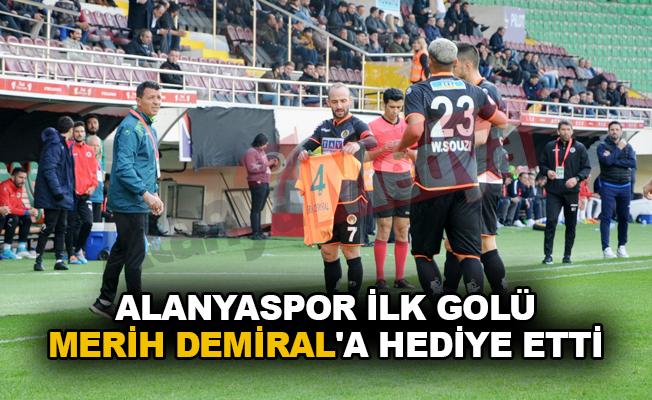 Alanyaspor ilk golü Merih Demiral'a hediye etti