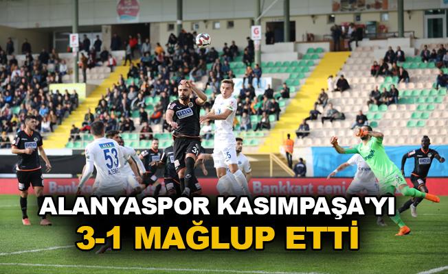 Alanyaspor Kasımpaşa'yı 3-1 mağlup etti