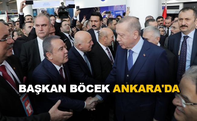 Başkan Böcek Ankara'da