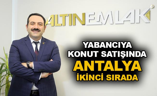 Yabancıya konut satışında Antalya ikinci sırada