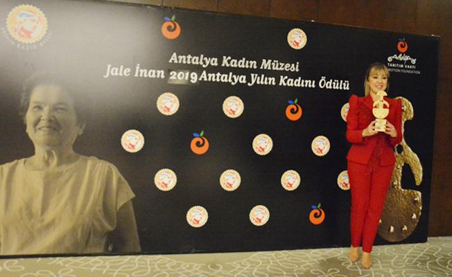 2019 Antalya Yılın Kadını Ödülü sahibini buldu