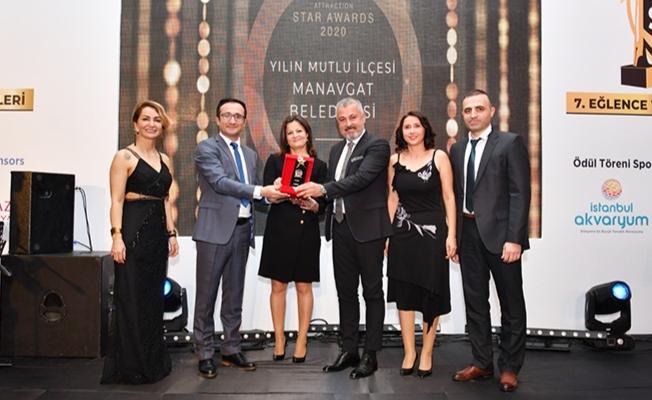 Başkan Sözen Yılın Mutlu İlçesi Ödülünü aldı