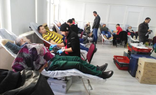 Kan bağış kampanyasında 146 ünite kan alındı