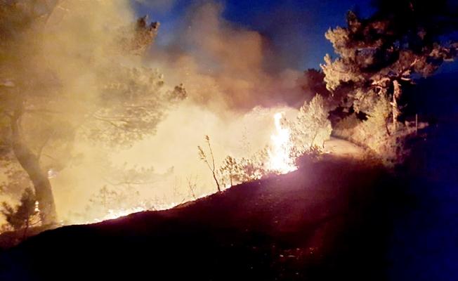 Yangından dönen ekip mangaldan çıkan ikinci yangını söndürdü