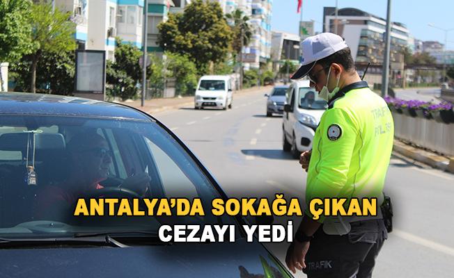 Antalya'da yasağı ihlal eden 729 kişiye 1 milyon 487 bin 79 TL ceza
