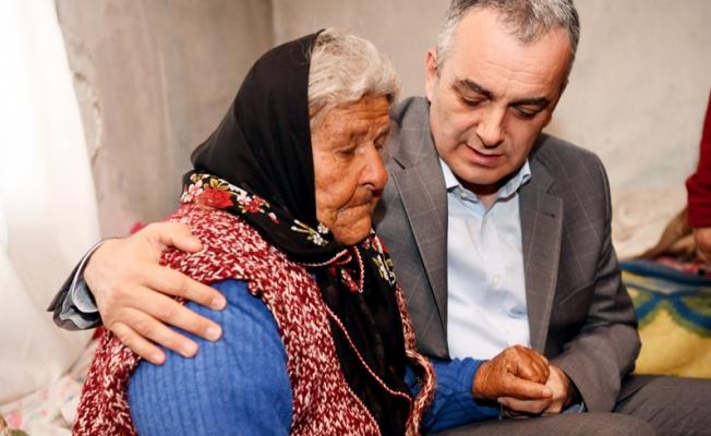 Başkan Esen, Elif ninenin ev hayalini gerçekleştirdi