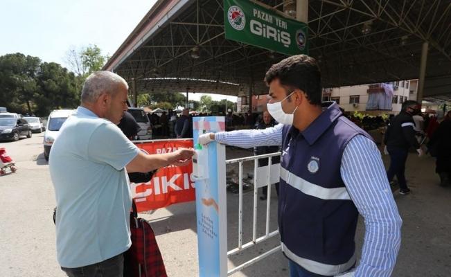 Kepez'de pazarlar hafta içine taşındı