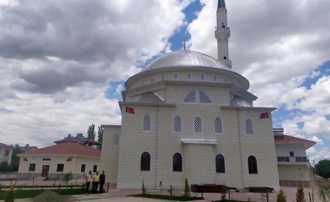 Hayırsever tarafından yaptırılan Hz. Hamza Cami ibadete açıldı