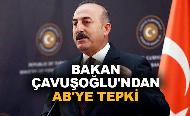 Bakan Çavuşoğlu'ndan Avrupa Birliği'ne tepki!