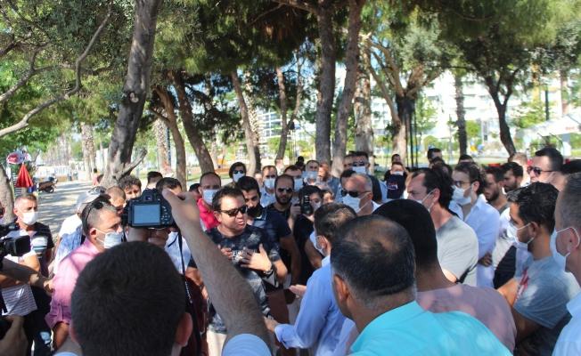 Dünyaca ünlü Konyaaltı Sahili'nde sınır işgali tartışması
