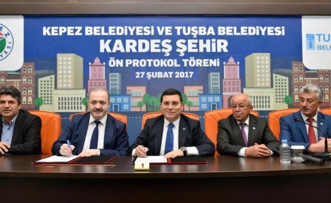 Kepez, Siirt'teki 3 belediye ile kardeş oluyor