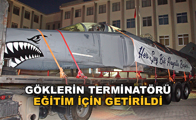 Terminatör, eğitim için Antalya'da