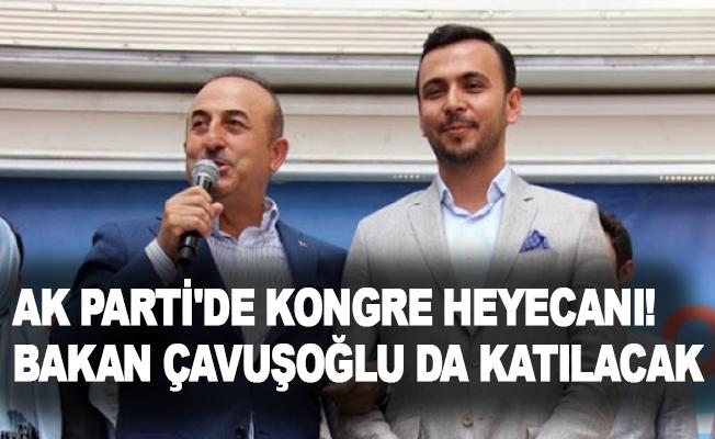 Ak Parti'de kongre heyecanı! Bakan Çavuşoğlu da katılacak