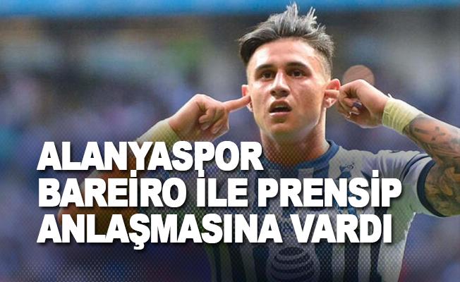 Alanyaspor, Bareiro ile prensip anlaşmasına vardı