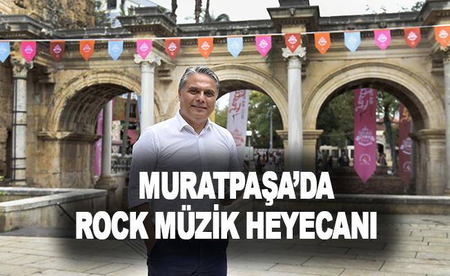 Muratpaşa'da rock müzik heyecanı