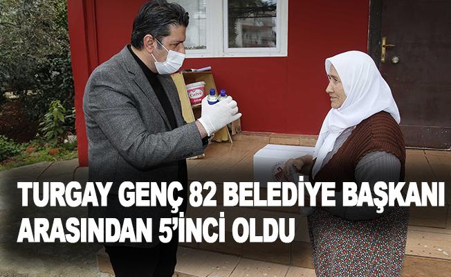 Turgay Genç, 82 belediye başkanı arasından 5'inci oldu