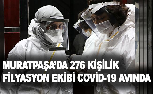 276 kişilik filyasyon ekibi Covid-19 avında