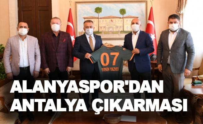 Alanyaspor'dan Antalya çıkarması