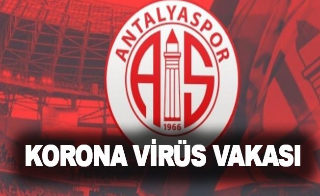 Antalyaspor'da korona virüs vakası