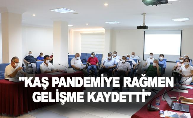 """Kaş Belediye Başkanı Ulutaş: """"Kaş pandemiye rağmen gelişme kaydetti"""""""