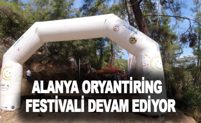 Alanya Oryantiring Festivali devam ediyor