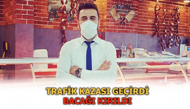 Selman Arıkan trafik kazası geçirdi