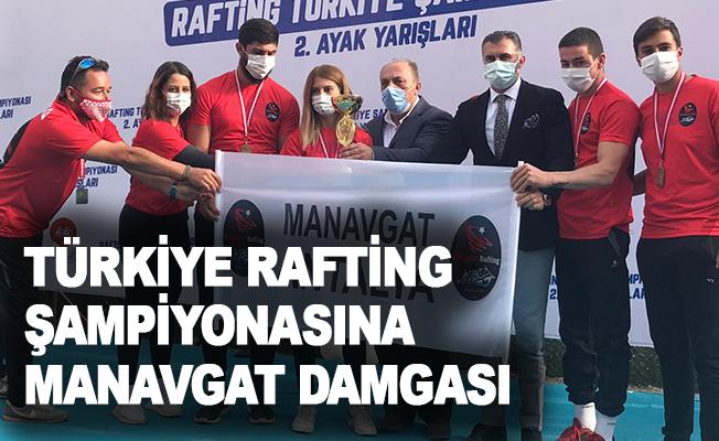 Türkiye Rafting Şampiyonasına Manavgat damgası