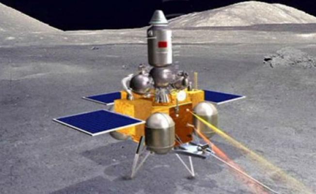 Ay'a fırlatılan araç Chang'e 5, yörüngeye girdi