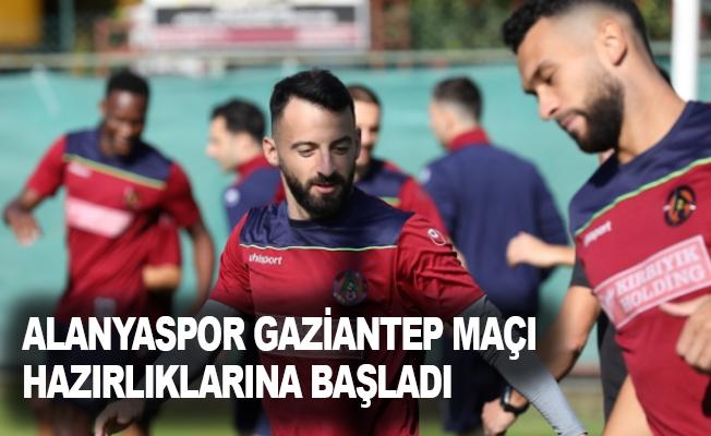 Alanyaspor, Gaziantep maçı hazırlıklarına başladı