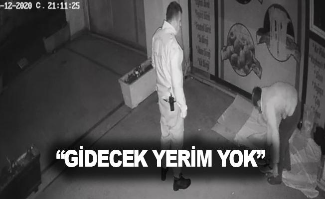 """""""Gidecek yerim yok"""" diyen vatandaş polis tarafından sokakta uyurken bulunup, misafirhaneye alındı"""