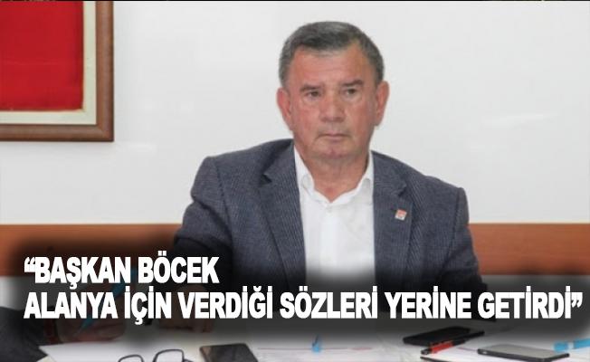 """Karadağ: """"Başkan Böcek, Alanya için verdiği sözleri yerine getirdi"""""""