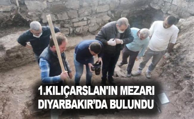 1.Kılıçarslan'ın Mezarı Diyarbakır'da Bulundu