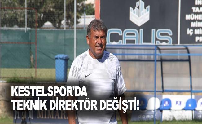 Kestelspor'da teknik direktör değişti!