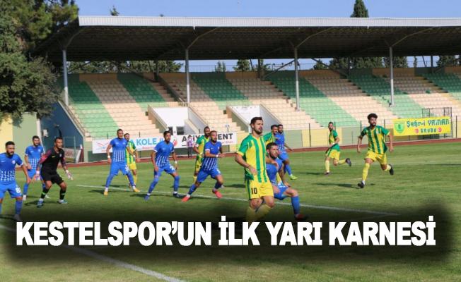 Kestelspor'un ilk yarı karnesi
