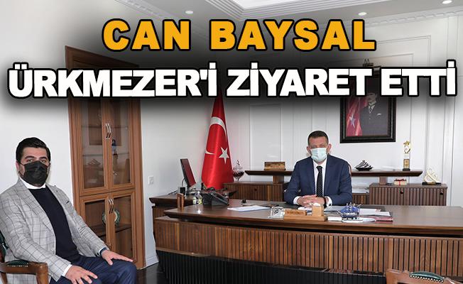 Can Baysal, Ürkmezer'i ziyaret etti
