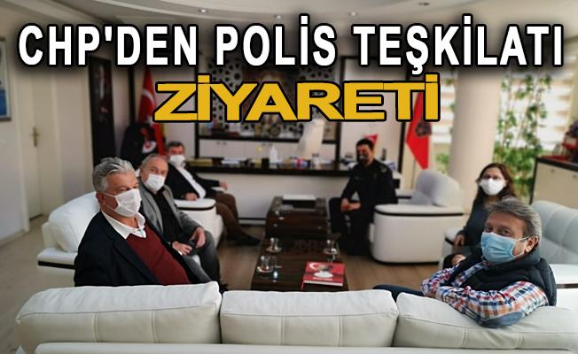 CHP'den Polis Teşkilatı ziyareti
