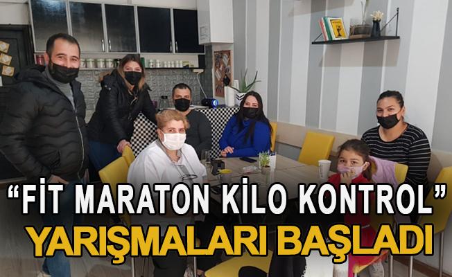 """""""Fit maraton kilo kontrol"""" yarışmaları başladı"""