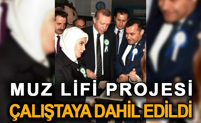 Muz Lifi Projesi çalıştaya dahil edildi