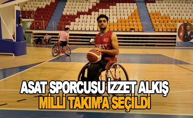 ASAT sporcusu İzzet Alkış Milli Takım'a seçildi