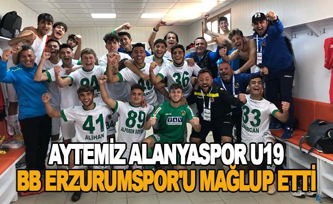 BB Erzurumspor U19 - Aytemiz Alanyaspor U19: 2-3