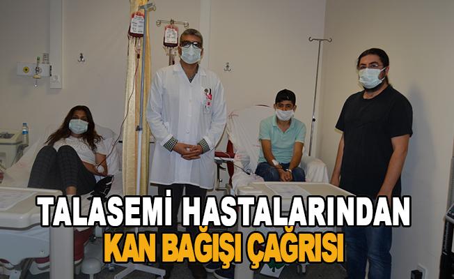 Talasemi Hastalarından Kan Bağışı Çağrısı